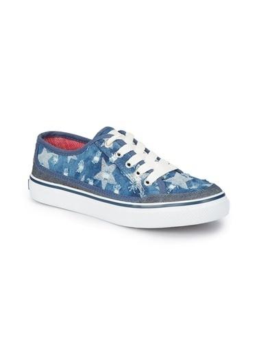 Mavi Mavi Düz Ayakkabı Lacivert